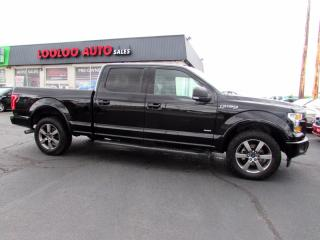 Used 2017 Ford F-150 XLT Sport SuperCrew 3.5L V6 Eco Boost 4WD Navigation for sale in Milton, ON