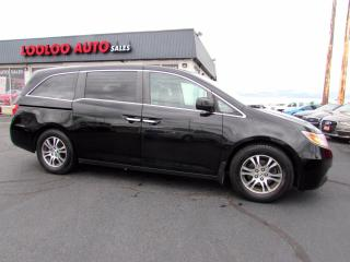 Used 2012 Honda Odyssey EX-L 8 Pass Rear DVD Camera PWR Sliding Door Certified for sale in Milton, ON