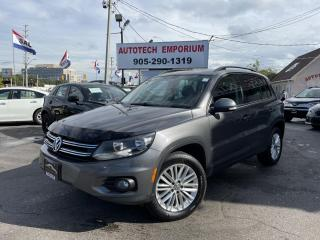 Used 2016 Volkswagen Tiguan Special Edition AWD 4Motion Pano Roof/Camera*$149b/w for sale in Mississauga, ON