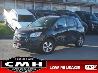 Used 2014 Chevrolet Trax LT w/2LT  CAM PARK-SENS PREM-AUDIO 16-AL for sale in St. Catharines, ON