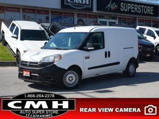 Used 2016 RAM ProMaster City Cargo Van ST  CAM BLUETOOTH PWR-GROUP for sale in St. Catharines, ON