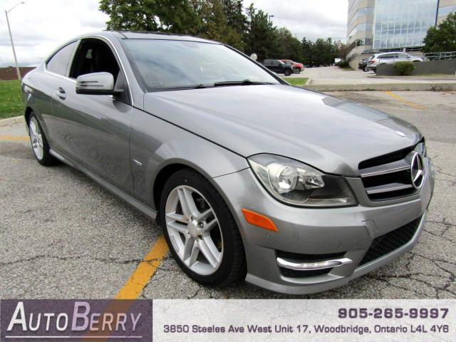 2012 Mercedes-Benz C-Class C250 Coupe Accident Free!!!