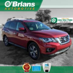 Used 2017 Nissan Pathfinder SV - Accident Free w/4WD, Backup Camera, Heated Seats, Third-row for sale in Saskatoon, SK