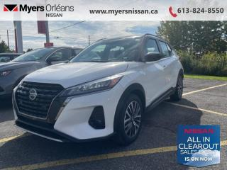 New 2021 Nissan Kicks SR  - Heated Seats -  Fog Lights - $184 B/W for sale in Orleans, ON