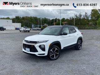 Used 2022 Chevrolet TrailBlazer RS  - Navigation - Heated Seats for sale in Orleans, ON