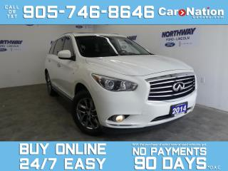 Used 2014 Infiniti QX60 AWD | V6 | LEATHER | ROOF | 7 PASS | HEADREST DVDS for sale in Brantford, ON