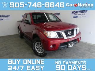 Used 2016 Nissan Frontier SV | 4X4 |KING CAB | REAR CAM | V6 |WOW ONLY 38 KM for sale in Brantford, ON