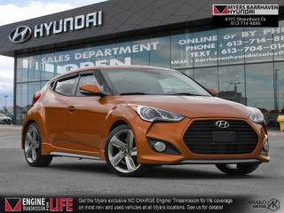 Used 2013 Hyundai Veloster Turbo  - Sunroof -  Heated Seats - $107 B/W for sale in Nepean, ON