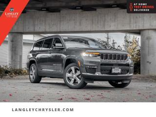 New 2021 Jeep Grand Cherokee L Limited  - Sunroof for sale in Surrey, BC