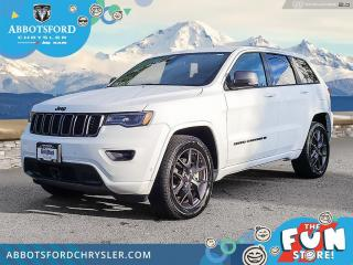 New 2021 Jeep Grand Cherokee 80th Anniversary Edition  - $511 B/W for sale in Abbotsford, BC