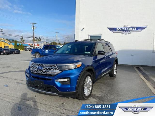 2021 Ford Explorer Limited Hybrid  - Leather Seats - $364 B/W