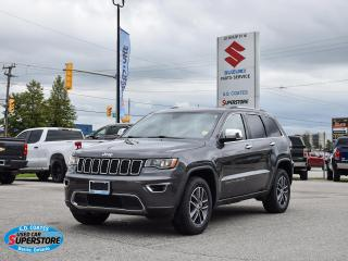 Used 2018 Jeep Grand Cherokee Limited 4x4 ~Nav ~Cam ~Heated Leather ~Moonroof for sale in Barrie, ON