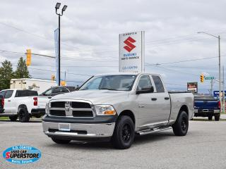 Used 2010 Dodge Ram 1500 ST Quad Cab 4x4 ~Backup Cam ~ONE OWNER! LOW KM! for sale in Barrie, ON