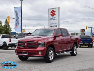 Used 2015 RAM 1500 SPORT CREW CAB 4X4 for sale in Barrie, ON