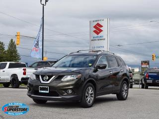Used 2014 Nissan Rogue SL AWD ~Nav ~Suround Cam ~Leather ~Panoramic Roof for sale in Barrie, ON