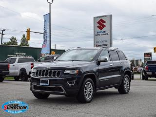 Used 2014 Jeep Grand Cherokee Limited 4x4 ~Nav ~Cam ~Leather ~Panoramic Moonroof for sale in Barrie, ON