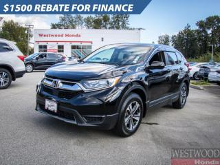 Used 2019 Honda CR-V LX AWD for sale in Port Moody, BC