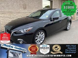 Used 2014 Mazda MAZDA3 GT-SKY* Navigation/Heated Seats/REMOTE STARTER for sale in Winnipeg, MB