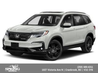 New 2022 Honda Pilot Black Edition for sale in Cranbrook, BC