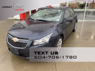 Used 2014 Chevrolet Cruze 2LS for sale in Langley, BC