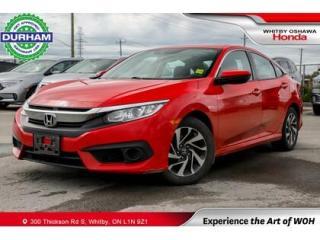 Used 2018 Honda Civic EX w/Honda Sensing for sale in Whitby, ON