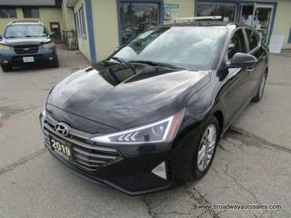 Used 2019 Hyundai Elantra FUN TO DRIVE LIMITED-EDITION 5 PASSENGER 1.8L - DOHC.. DRIVE-MODE-SELECT.. HEATED SEATS & WHEEL.. BACK-UP CAMERA.. BLUETOOTH SYSTEM.. for sale in Bradford, ON