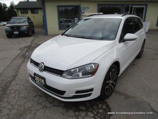Used 2016 Volkswagen Golf POWER EQUIPPED TSI-HATCH-MODEL 5 PASSENGER 1.8L - 4 CYL.. LEATHER.. HEATED SEATS.. BACK-UP CAMERA.. BLUETOOTH SYSTEM.. AUX/USB INPUT.. for sale in Bradford, ON