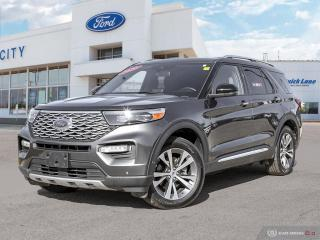 Used 2020 Ford Explorer Platinum for sale in Winnipeg, MB