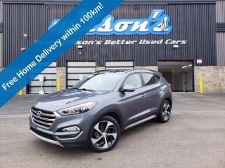 Used 2017 Hyundai Tucson SE AWD, Leather, Panoramic Sunroof, Heated Wheel + Seats, Blind Spot Warning & More! for sale in Guelph, ON