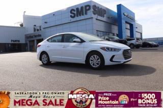 Used 2018 Hyundai Elantra L -6 Speed Manual,  Heated Seats, for sale in Saskatoon, SK