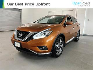Used 2016 Nissan Murano Platinum AWD CVT for sale in Richmond, BC