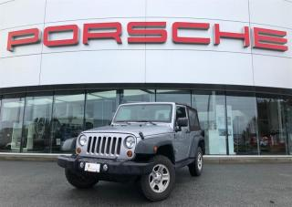 Used 2013 Jeep Wrangler Sport 2D Utility 4WD for sale in Langley City, BC