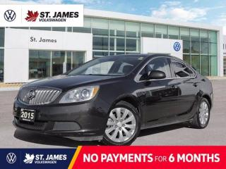 Used 2015 Buick Verano Convenience 1, LOCAL MANITOBA VEHICLE, POWER SUNROOF, BACKUP CAMERA for sale in Winnipeg, MB