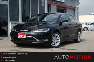 Used 2015 Chrysler 200 Limited for sale in Chatham, ON