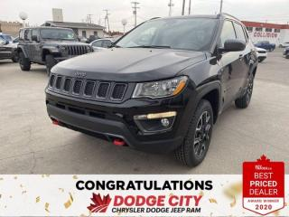 New 2021 Jeep Compass Trailhawk- 4WD, Nav, Remote Start, Htd.Seats/Wheel for sale in Saskatoon, SK