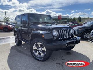 Used 2016 Jeep Wrangler Sahara BLUETOOTH, NAVIGATION for sale in Midland, ON