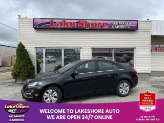 Used 2015 Chevrolet Cruze 1LT BLUETOOTH for sale in Tilbury, ON