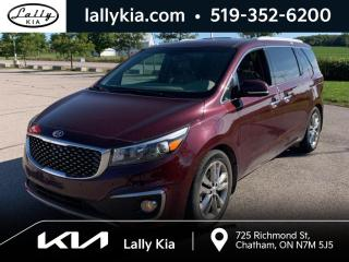 Used 2017 Kia Sedona SXL Leather #NAV #8 Passenger #Roof for sale in Chatham, ON