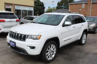 Used 2017 Jeep Grand Cherokee Limited for sale in Brampton, ON