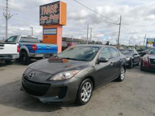 Used 2013 Mazda MAZDA3 GX*AUTO*4 CYLINDER*ONLY 123KMS*CERTIFIED for sale in London, ON