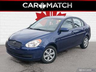 Used 2008 Hyundai Accent GL / AUTO / AC/ ONE OWNER CAR for sale in Cambridge, ON