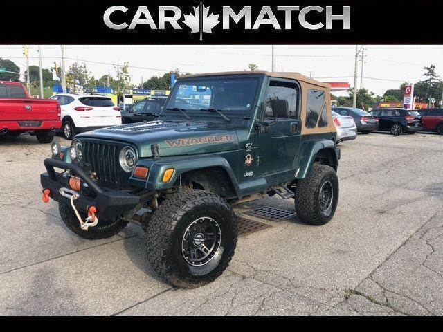 1999 Jeep TJ SAHARA / 4X4 / MANUAL