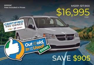 Used 2015 Dodge Grand Caravan SXT for sale in Watrous, SK