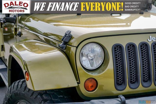 2008 Jeep Wrangler SAHARA / TARGA / NAVI / BUCKET SEATS Photo9