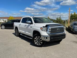 Used 2018 Toyota Tundra Limited  for sale in Oakville, ON
