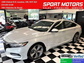 Used 2019 Honda Accord Touring 2.0+CooledSeat+AdaptiveCruise+CLEAN CARFAX for sale in London, ON