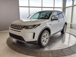 Used 2020 Land Rover Discovery Sport White On White! for sale in Edmonton, AB
