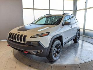Used 2015 Jeep Cherokee Trailhawk for sale in Edmonton, AB