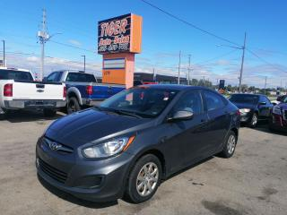 Used 2013 Hyundai Accent RUNS&DRIVES WELL*GREAT ON FUEL*AS IS SPECIAL for sale in London, ON