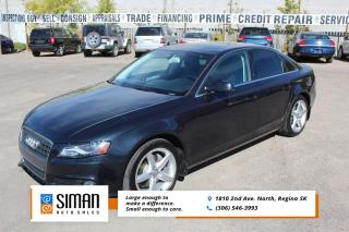 Used 2012 Audi A4 2.0T PREMIUM LEATHER SUNROOF AWD for sale in Regina, SK